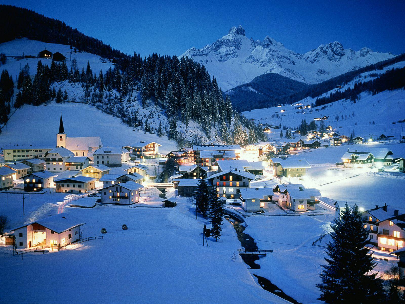 Austrijas ziemas kūrorti