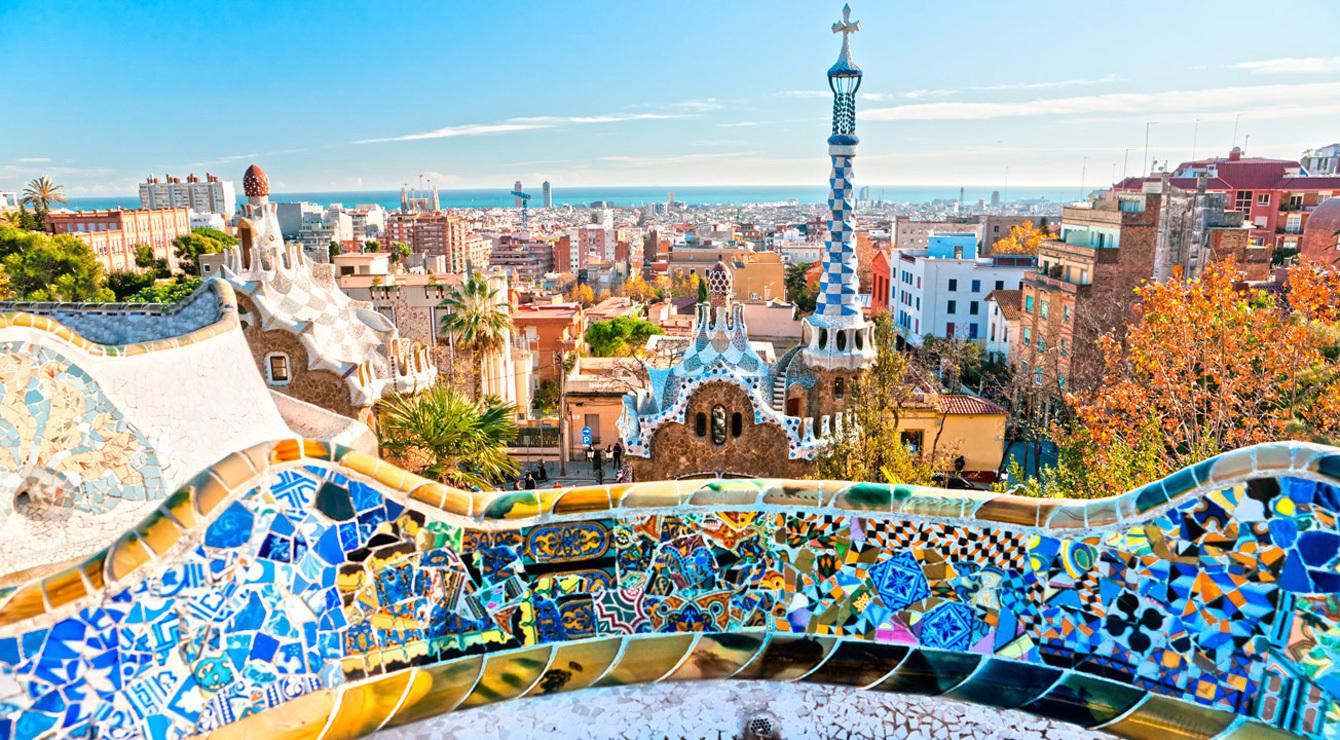 Gaudi parks Barselonā