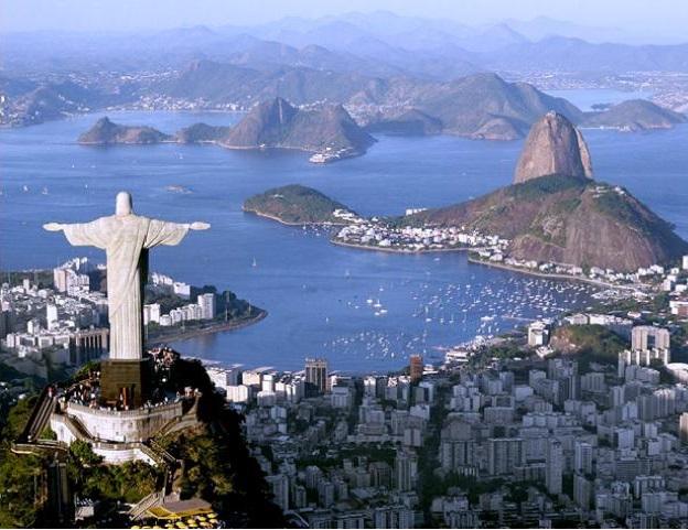 Brazīlija Cukurgalva Kristus pēstītājs
