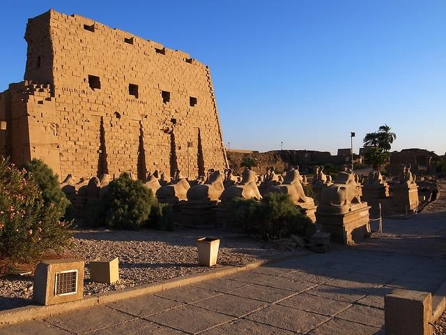 Ēģipte karnaka templis