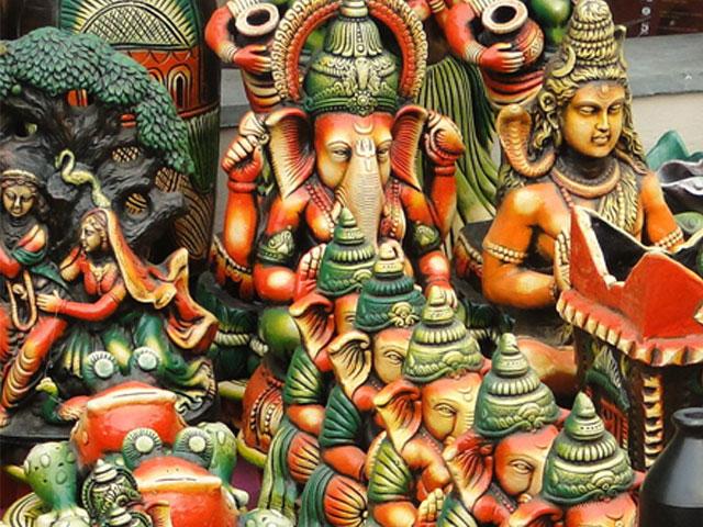 Indija Deli amatnieku tirgus