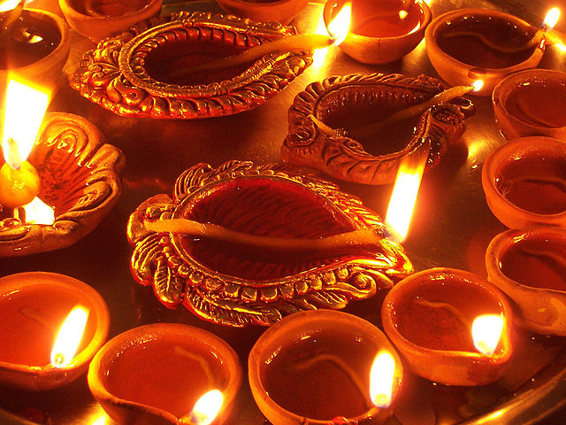 Indija Divali festivāls