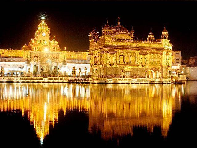 Indija Sikhi zelta templis