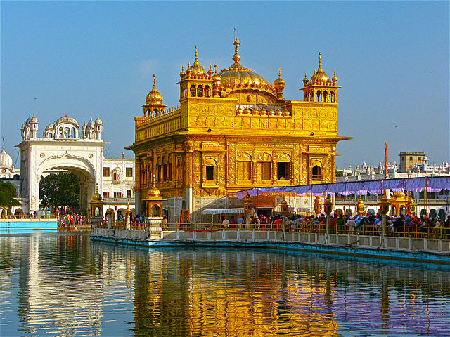 Indija sikhu zelta templis