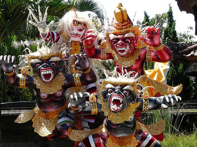 Indonēzijas apskates objekti nyepi jaunais gads