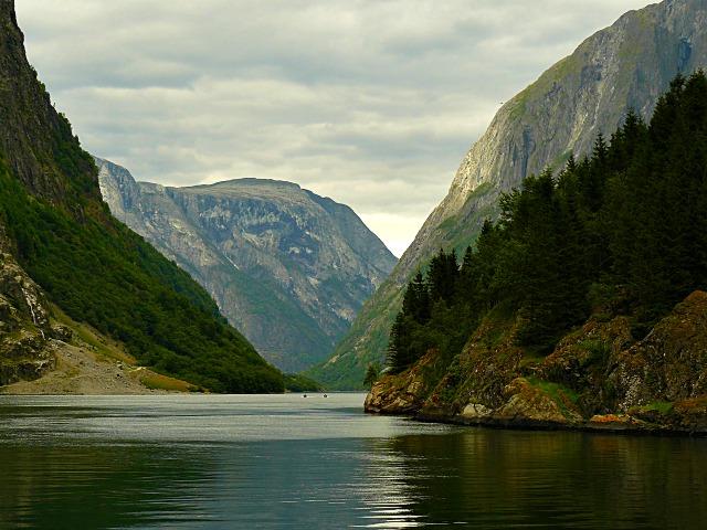 Norvēģija fjordi